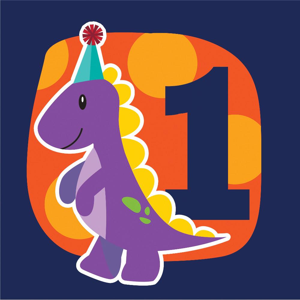 """Servetėlės """"Dinozauriukai. 1 -asis gimtadienis"""" (16 vnt.)"""