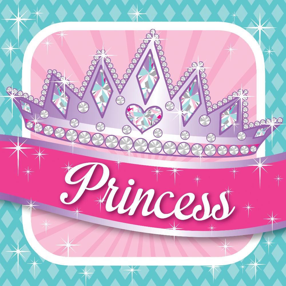 """Servetėlės """"Princesės puota"""" (16 vnt.)"""