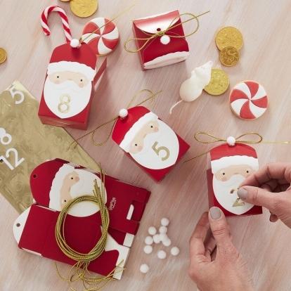 """Advento kalendorius """"Kalėdų Seneliukai"""""""