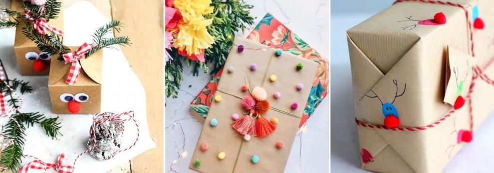 10 dovanų pakavimo idėjų