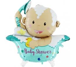 "3D folinis balionas ""Baby Shower"" (107 cm)"