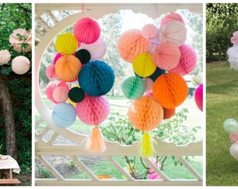 8 dekoro idėjos šventimui gamtoje