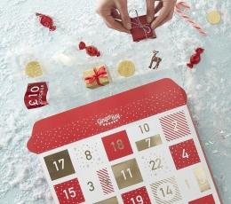 """Advento kalendorius """"Raudoni langeliai"""" 2"""