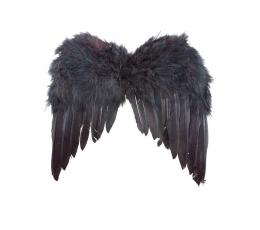 Angelo sparnai, juodi (35 cm)