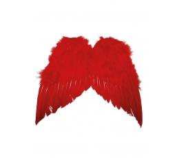 Angelo sparnai, raudoni (35 cm)