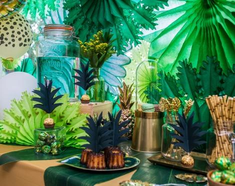 Auksinis džiunglių vakarėlis