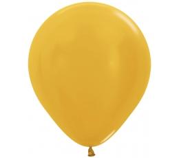 Balionas, perlamutrinis auksinis (45 cm)