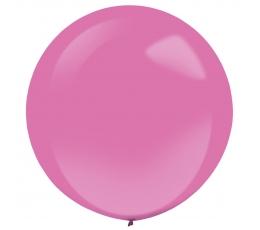 Balionas, rožinis apvalus (61 cm)