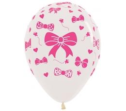 """Balionas """"Rožinis kaspinėlis"""" (30 cm)"""