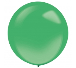 Balionas, žalias skaidrus apvalus (61 cm)