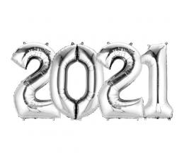 "Balionų rinkinys ""2021"" (4 vnt./35 cm)"