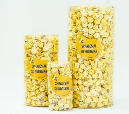 Bananų skonio spragėsiai (0,5L/S) 2