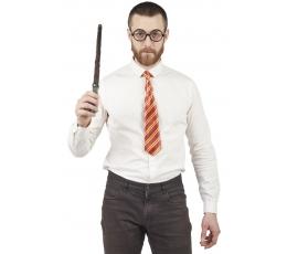 Burtininko rinkinys (kaklaraištis, akiniai, lazdelė)