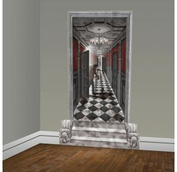 """Sienos dekoracijos-plakatai """"Šešėlių koridorius"""" (2 vnt./165x85 cm)"""
