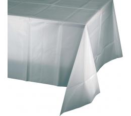Staltiesė, sidabrinė (137x274 cm)