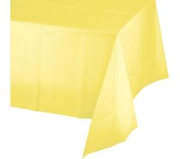Staltiesė, gelsva (137x274 cm)