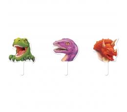 "Smeigtukai-dekoracijos ""Dinozaurai"" (12 vnt.)"
