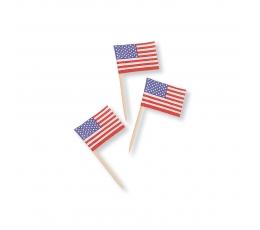 "Smeigtukai-vėliavėlės ""Americano"" (50 vnt.)"
