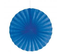 Dekoracija-vėduoklė, mėlyna (40 cm)