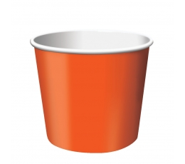 Indeliai užkandžiams, oranžiniai (6 vnt.)