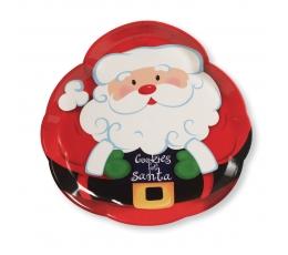 """Plastikinis padėkliukas """"Kalėdų senelis"""""""