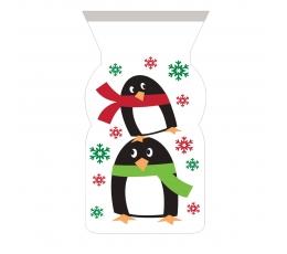 """Dovanų maišeliai """"Pingvinai"""" (12 vnt.)"""