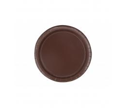 Lėkštutės, rudos (20 vnt./18 cm)