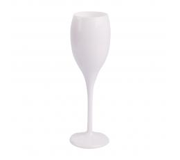 Taurė šampanui, balta prabangi (1 vnt.)