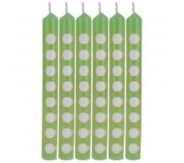 Žvakutės, taškuotai salotinės (12 vnt.)