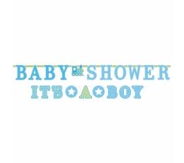 """Girliandos """"Baby Shower/It's a boy"""", žydros (2 vnt.)"""