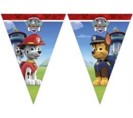 """Vėliavėlių girlianda """"Šuniukai Patruliai"""" (9 vėliavėlės)"""