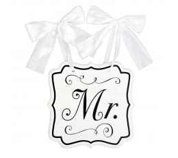 """Kabinama lentelė """"Mr."""" (24x25 cm)"""