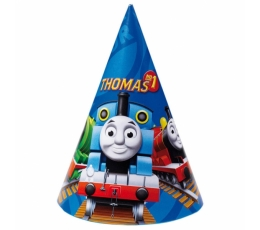 """Kepuraitės """"Traukinukas Tomas"""" (6 vnt.)"""