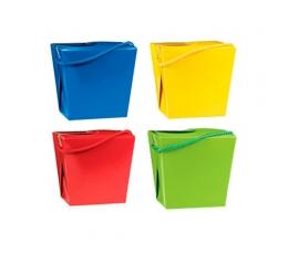 Dėžutės-kibirėliai, spalvotos (8 vnt.)