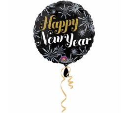 "Folinis balionas ""Happy New Year"" (45 cm)"