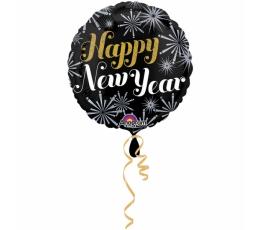 "Folinis balionas ""Happy New Year"" (45 cm)"