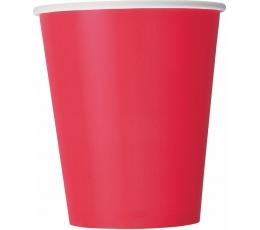 Puodeliai, ryškiai raudoni (14 vnt./266 ml)