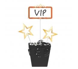 """Smeigtukai-dekoracijos """"VIP"""" (3 vnt.)"""
