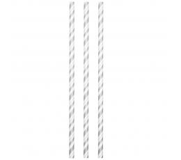 Šiaudeliai, pilkai dryžuoti- lankstūs (24 vnt.)