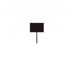 Smeigtukai-dekoracijos, kreidinės (12 vnt.)