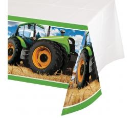 """Staltiesė """"Traktoriai"""" (137x259 cm)"""