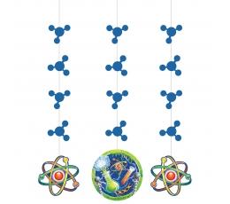 """Kabančios dekoracijos """"Mokslininkas"""" (3 vnt.)"""