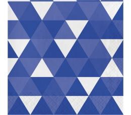 """Servetėlės """"Mėlynos figūros"""" (16 vnt.)"""