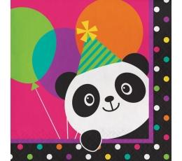 "Servetėlės ""Linksmoji panda"" (16 vnt.)"