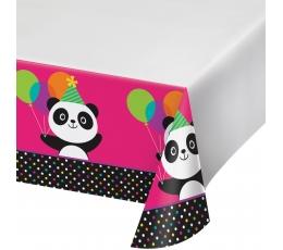 "Staltiesė ""Linksmoji Panda"" (137x254 cm)"
