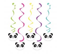 "Kabančios dekoracijos ""Panda"" (5 vnt.)"