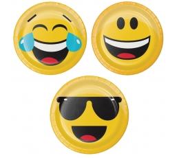 "Lėkštutės ""Šypseniukai-Emojions"" (8 vnt./18 cm)"
