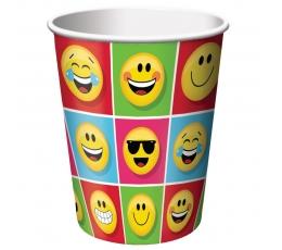 """Puodeliai """"Šypseniukai-Emojions"""" (8 vnt./266 ml)"""