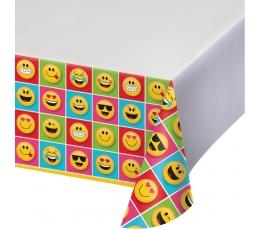 "Staltiesė ""Šypseniukai-Emojions"" (137x254 cm)"
