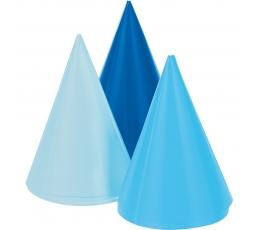 Mini kepuraitės, mėlynos (8 vnt.)